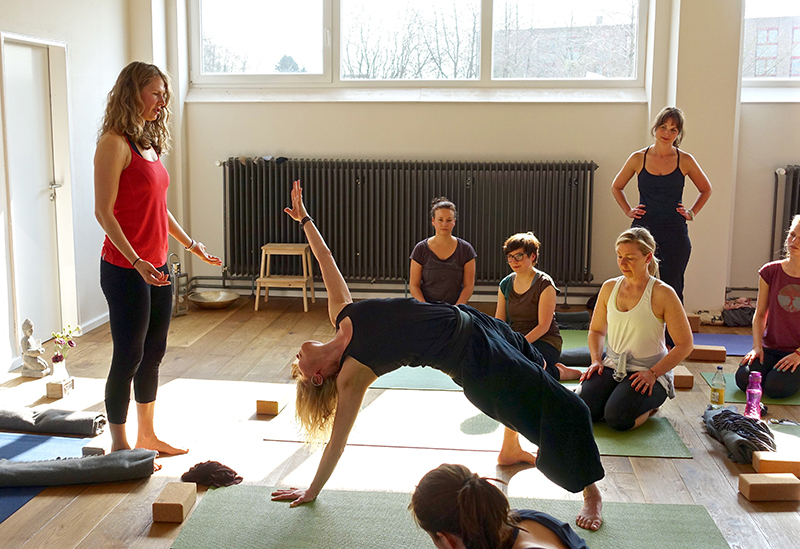 Anusara Yoga in Kiel - Workshop (yoga essence)